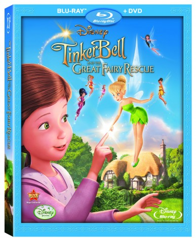 Tinker Bell and the Great Fairy Rescue Blu-Ray or DVD