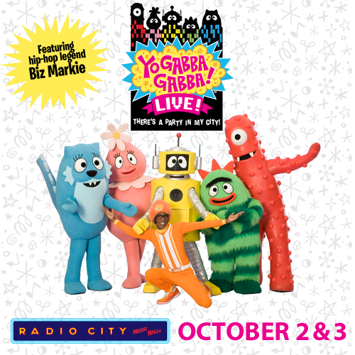 There's a Party in My (NY) City and Yo Gabba Gabba has a Discount Code for You!