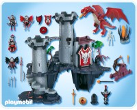 playmobil dragon land parts