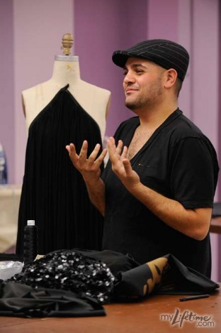 Michael Costello - Draped Dress from New York Challenge