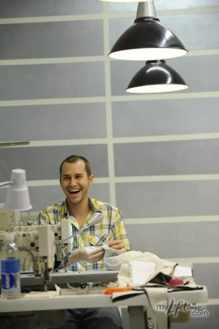 Christopher Collins on Project Runway