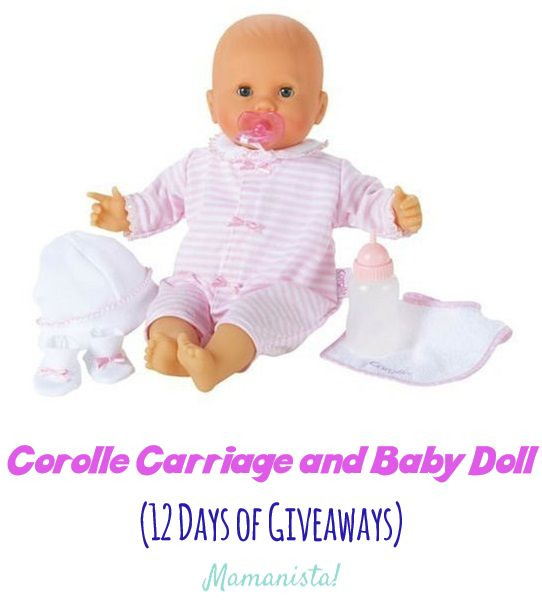 Corolle Carriage and Baby Doll (12 Days of Giveaways)