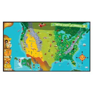 You'll Know Plenty 'Bout Geography: LeapFrog Tag Map USA (12 Days of Giveaways)