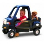 Little Tikes Black Pick-Up Truck
