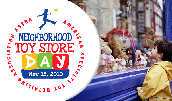 Celebrate Neighborhood Toy Store Day