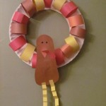 Turkey Paper Plate Wreath