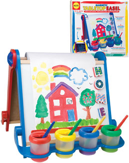 Alex Magnetic Table Top Easel