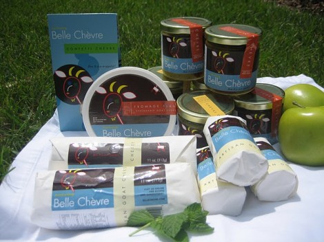Gourmet Goodies: Belle Chevre Goat Cheese