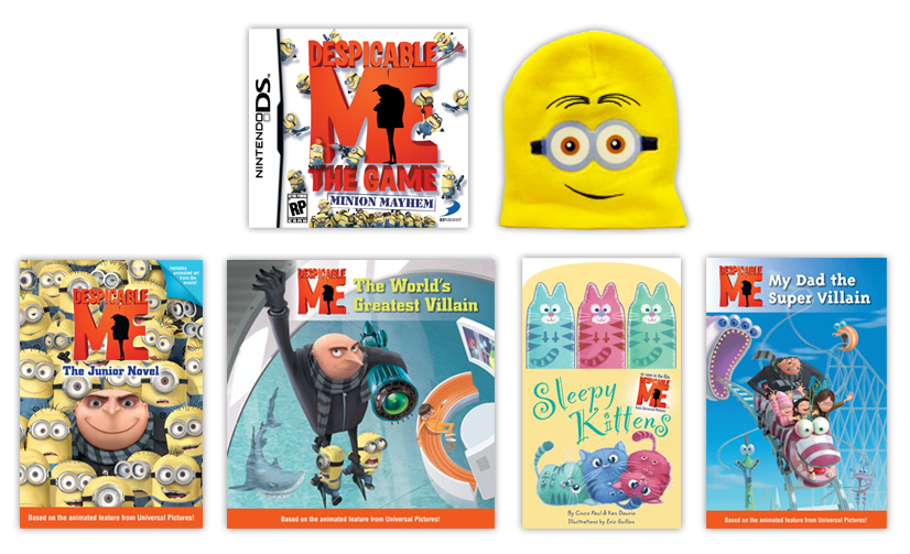 Despicable Me Prize Pack Giveaway