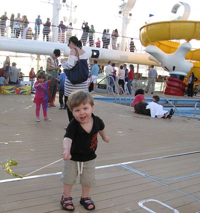 Aboard the Disney Dream Cruise Ship for the Christening Cruise