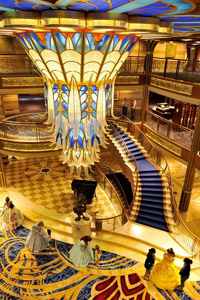 Disney Dream Art Deco Lobby