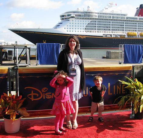 Disney Dream Christening Red Carpet