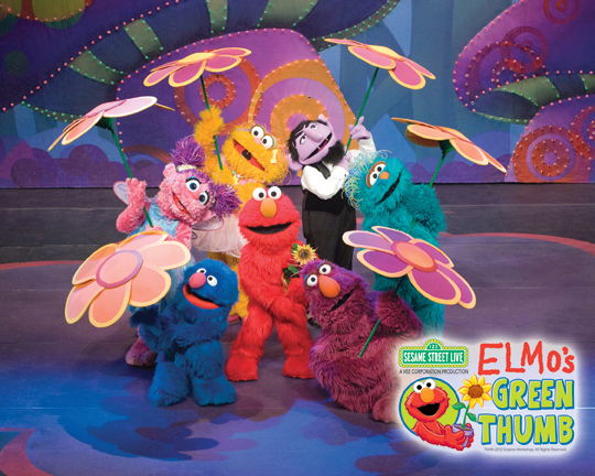 Contest: Elmo's Green Thumb at Madison Square Garden