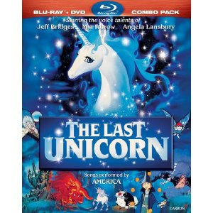 The Last Unicorn Combo DVD 2011