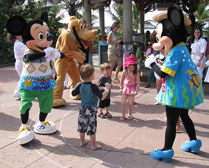 Mickey and Minnie Dance Party on Castaway Cay