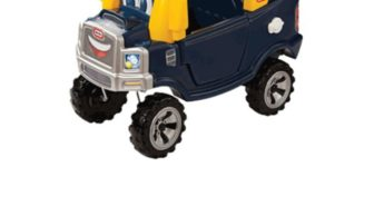 Beep, Beep, Here We Go! (Little Tikes Cozy Truck GIVEAWAY!)