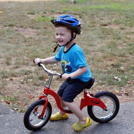 Learn to Bike with Kazam Balance Bikes