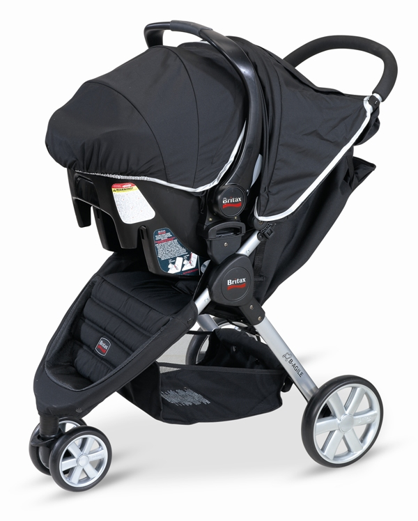 Britax B-AGILE Travel System with the B-SAFE Car Seat