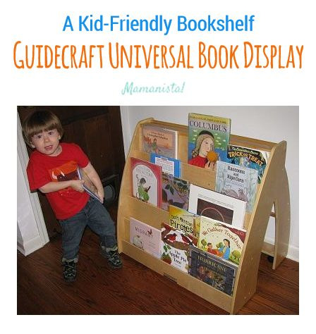 A Kid-Friendly Bookshelf: Guidecraft Universal Book Display
