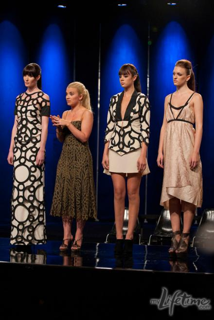 Project Runway Final Elimination: An Interview with the Auf'd Designer