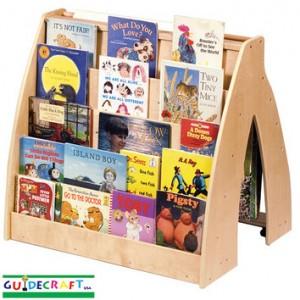 A Kid Friendly Bookshelf Guidecraft Universal Book Display