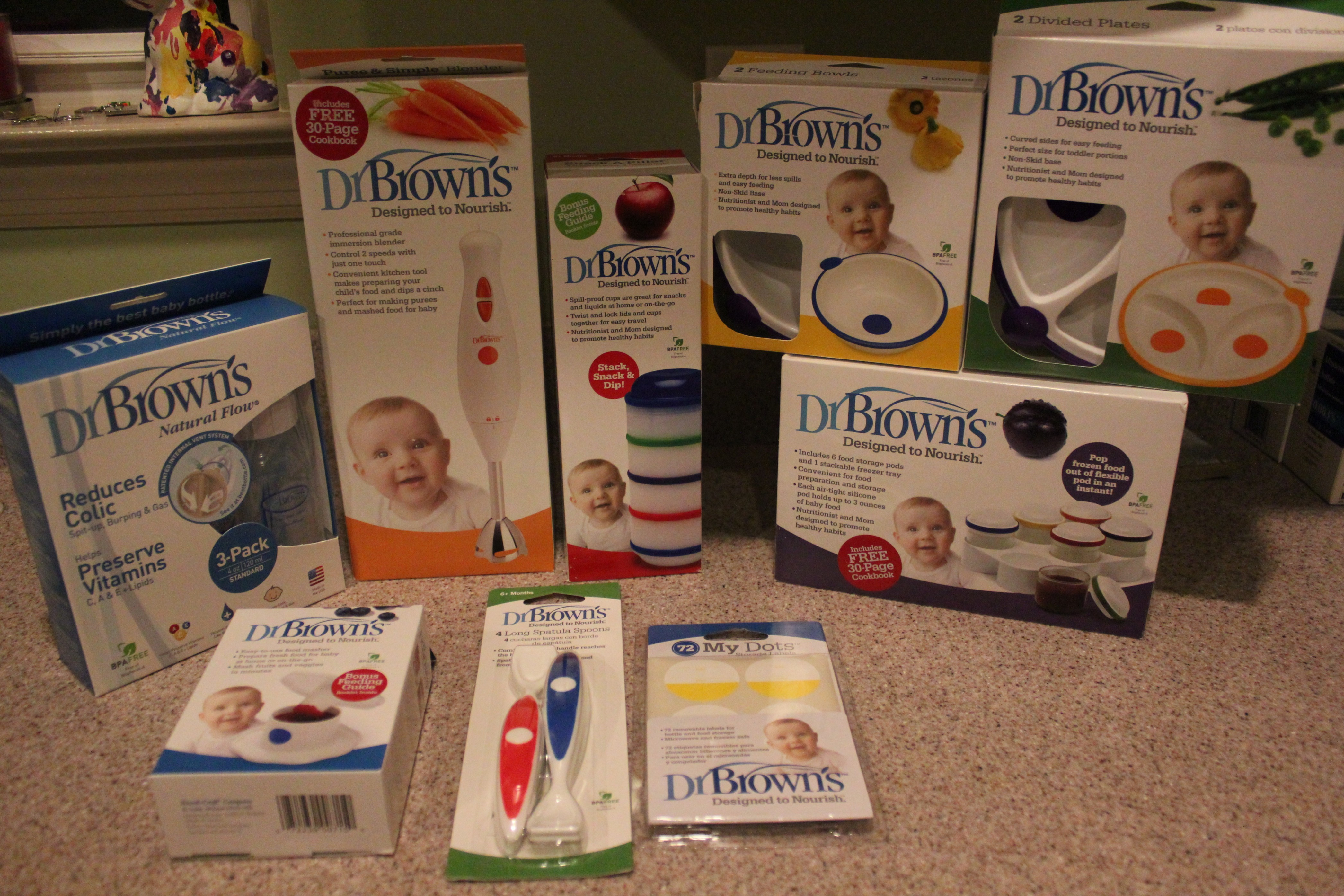 Dr Browns Feeding System