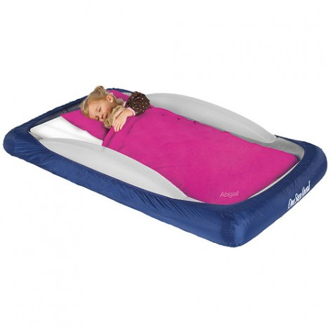 Go Anywhere with this Kids' Travel Bed from Leaps and Bounds