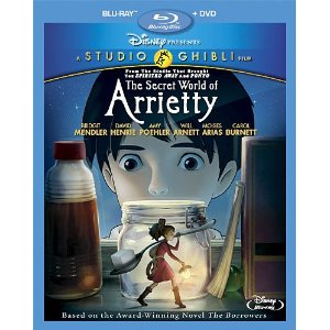The Secret World of Arrietty on Blu-ray & DVD Combo Pack