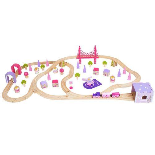 BigJigs® Fairy Town Train Set