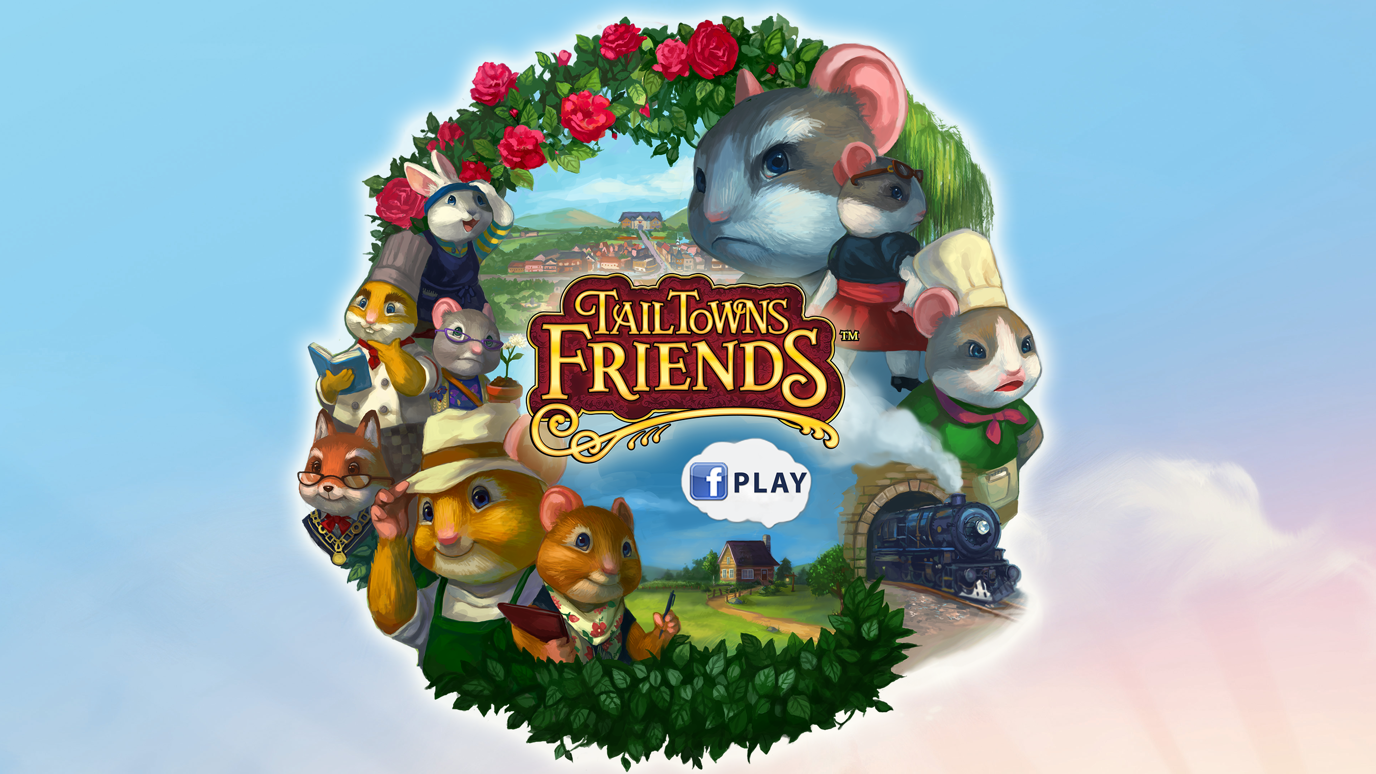 There's a NEW Facebook game in town: Tail Towns Friends by Ganz