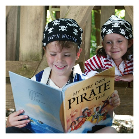 I See Me in a Personalized Pirate Adventure Book