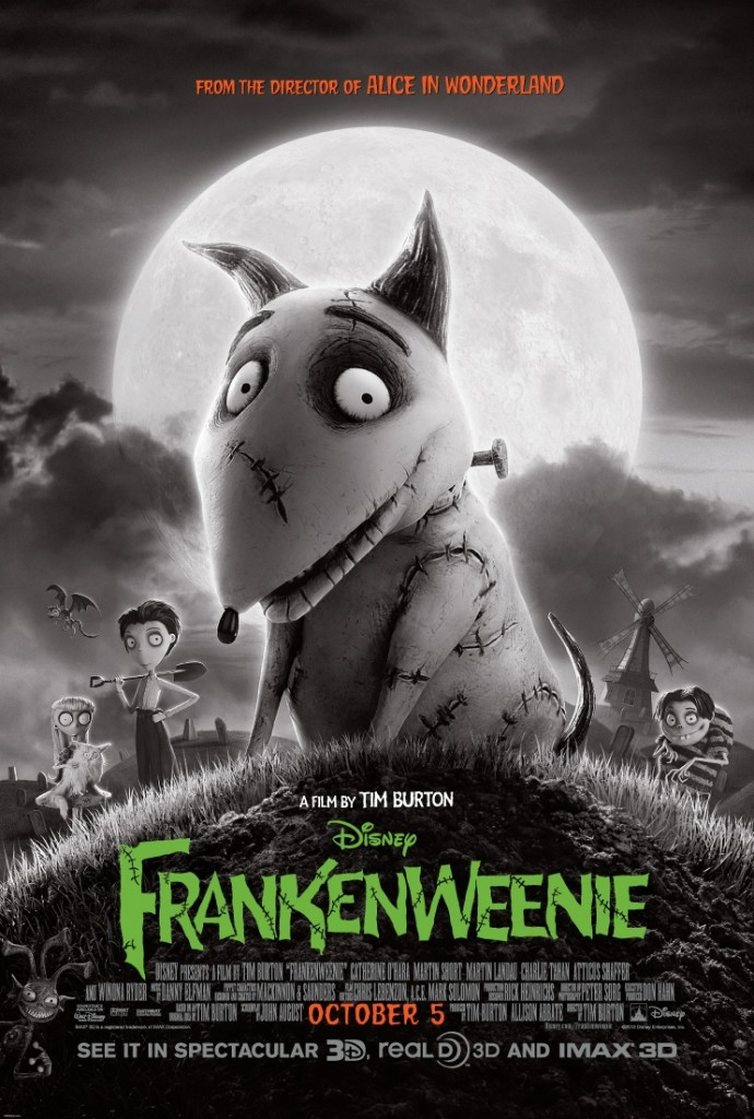 Disney's Frankenweenie: Kids Movie Review