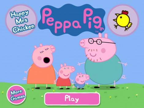 New App for Kids: Peppa Pig Happy Mrs. Chicken