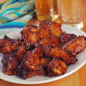 martie duncan's diablo chicken wings