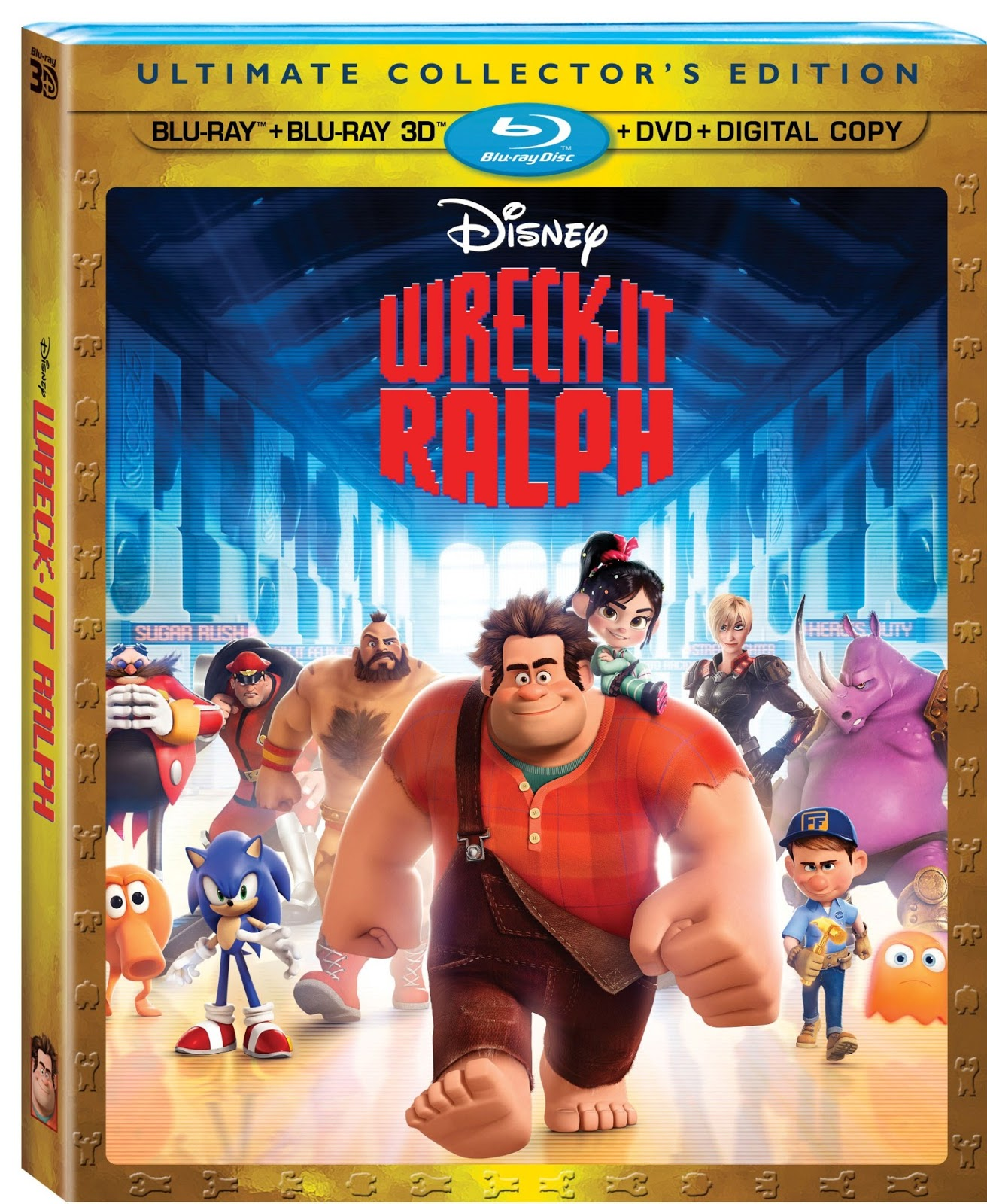 Wreck It Ralph DVD {REVIEW}