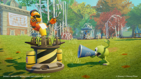 "Back to School with Disney and Pixar's ""Monster's University"" and Disney Infinity!"