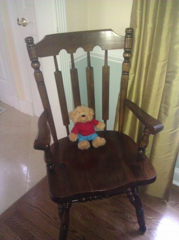 """Brother Bear in """"time out"""""""