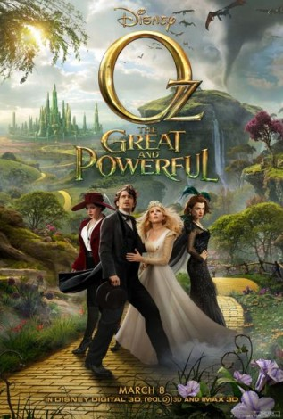 Oz The Great and Powerful DVD cover