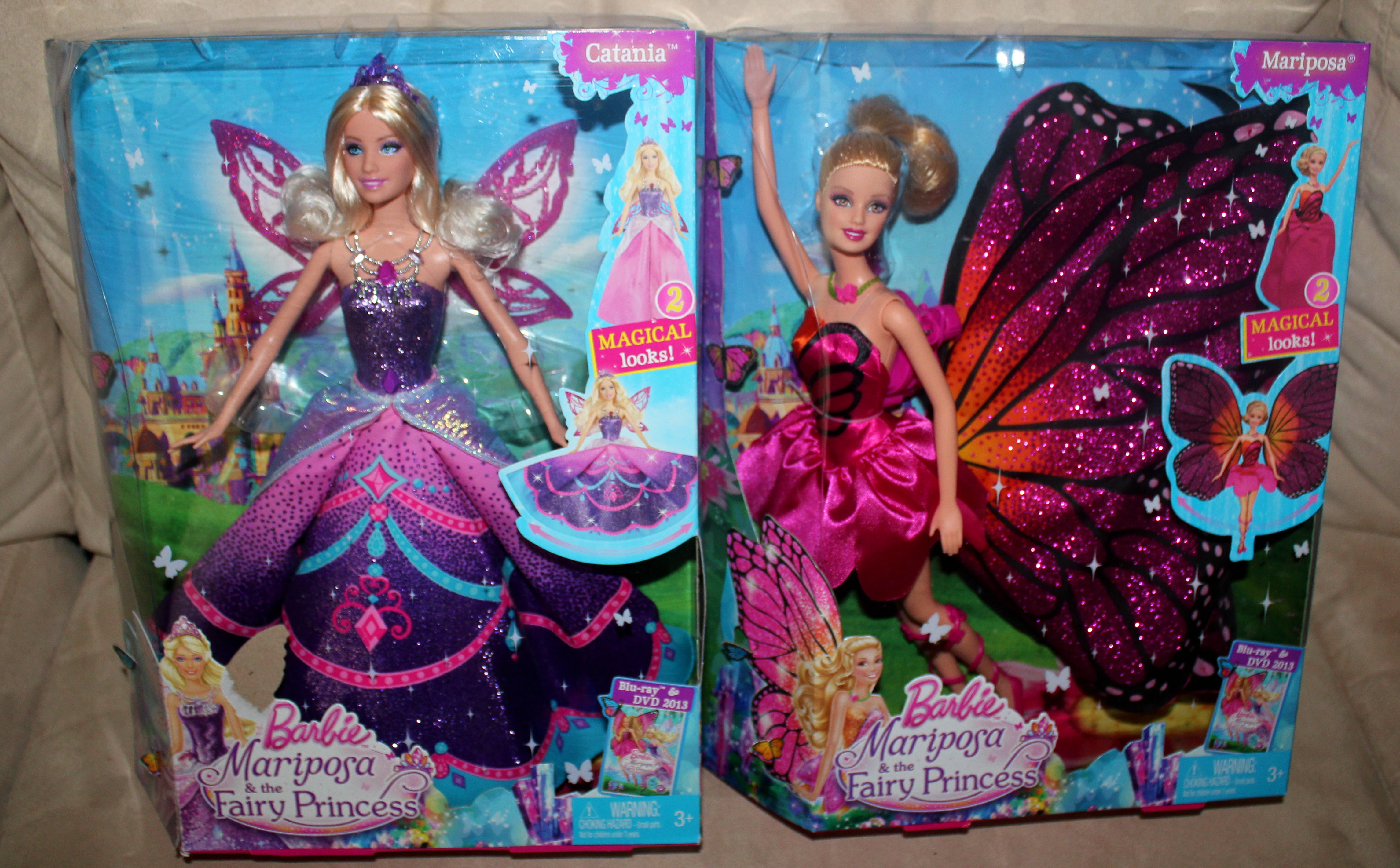 Barbie Mariposa And The Fairy Princess Mamanista