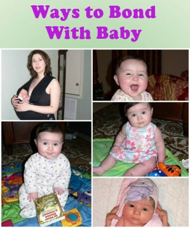Ways to Bond with Your Baby - Mamanista
