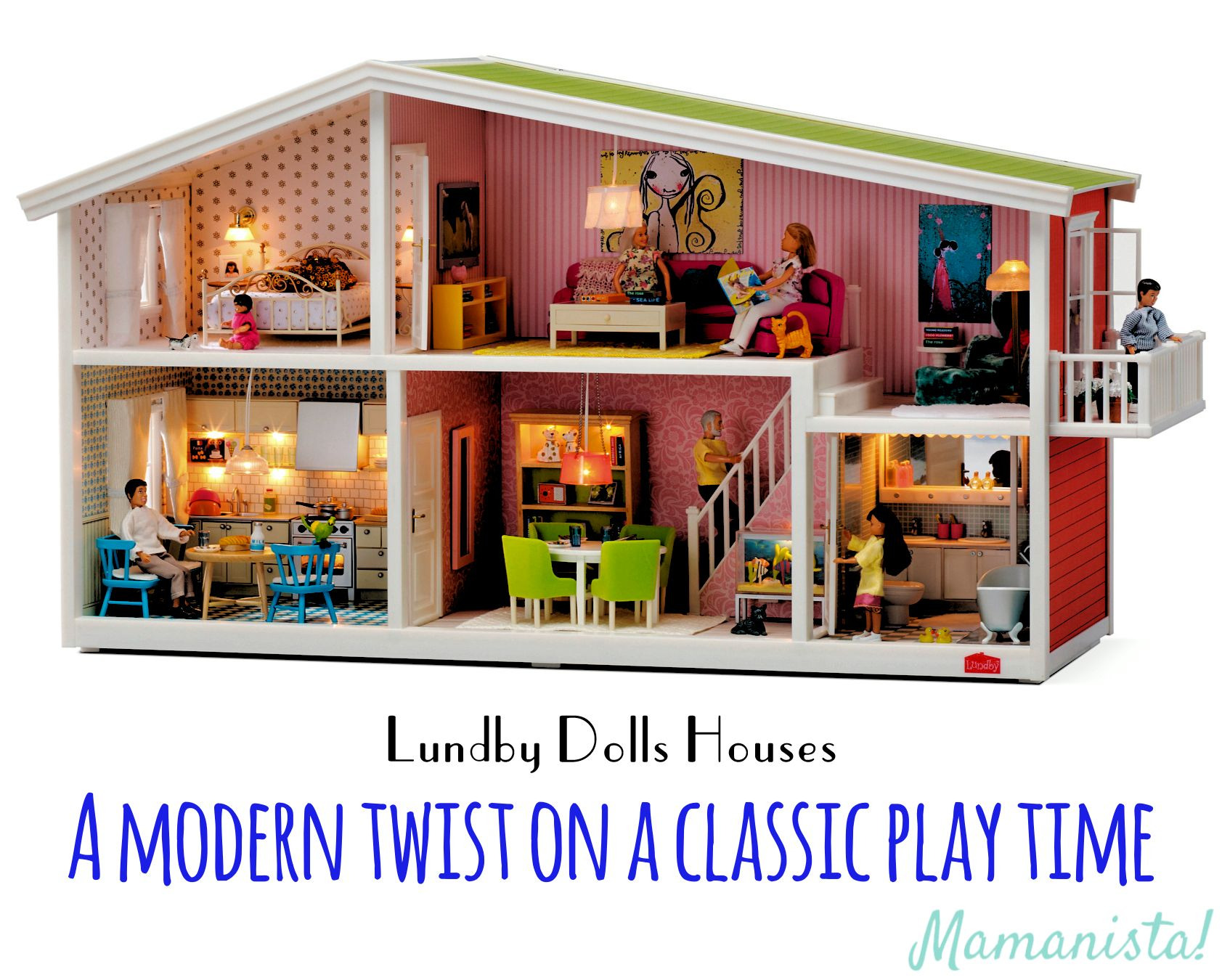 Lundby dolls houses: A modern twist on a classic play time, Part 1