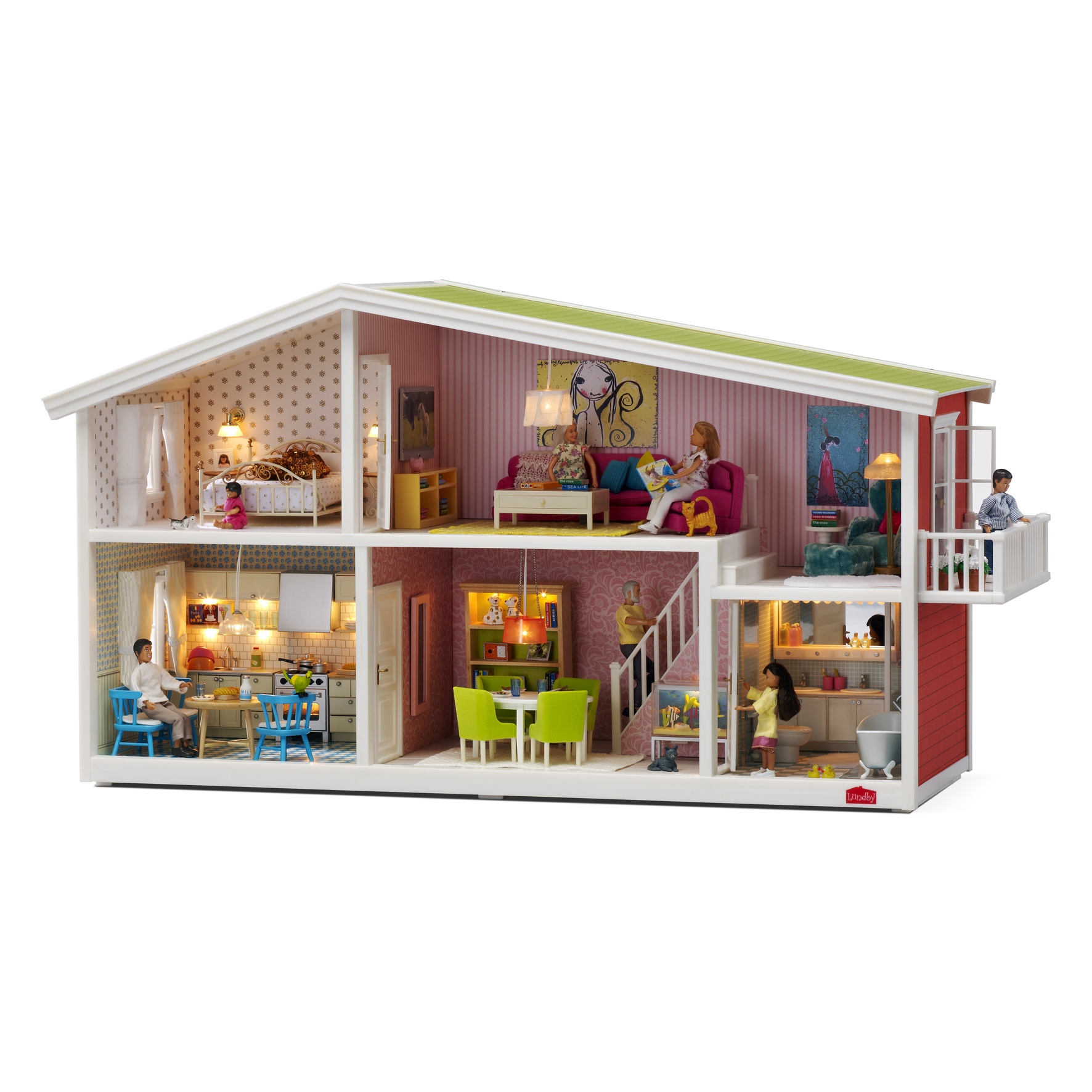 Toys For House : Lundby dolls houses a modern twist on classic play time