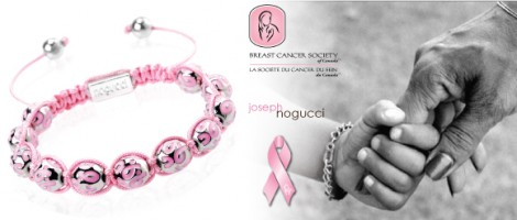 Joseph Nogucci's Pink Ribbon Charmballa Bracelet Stands as Symbol of Hope for Breast Cancer Awareness Month