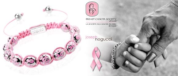 Joseph Nogucci Pink Charmballa Bracelet