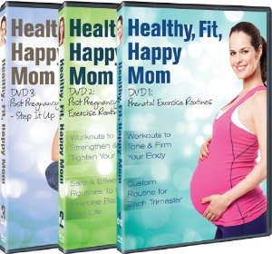Healthy, Fit, Happy Mom Fitness DVD Series