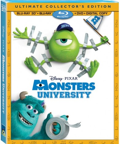 Monsters University DVD cover