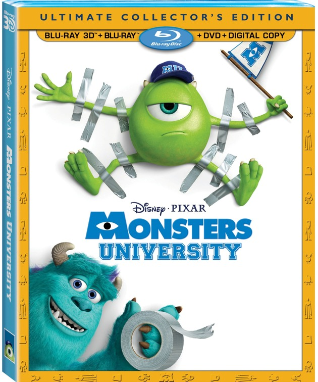 Monsters University on DVD Arrives October 29!