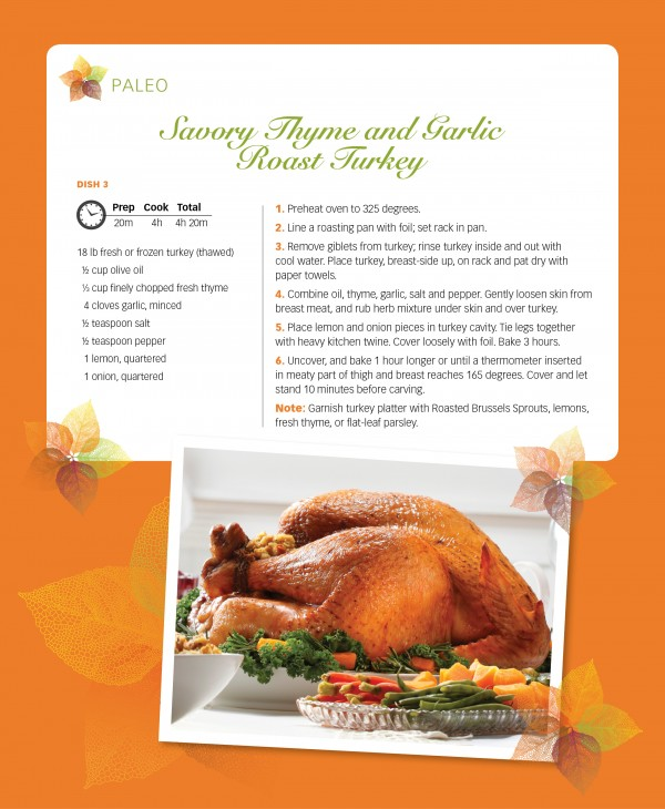 paleo turkey recipe