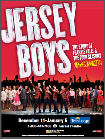 Tony- Award Winning Musical Jersey Boys at the Forrest Theatre