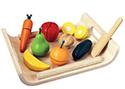 wooden fruit